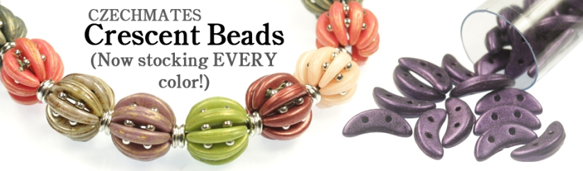 Slider - Crescent Beads 2