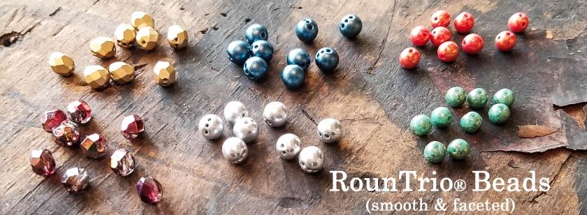 Slider - RounTrio Beads