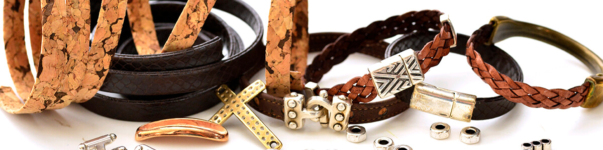 Blog - Men's Jewelry - metal and cork